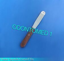 12 Plaster Spatula Curved Tip Surgical Dental Tools