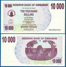 SIMBABWE / ZIMBABWE 10.000 Dollars 2006  UNC  P. 46 b