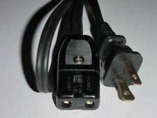 "Sanyo Steam Rice Cooker Warmer Model EC230 Power Cord (2pin) 36"""