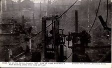 New Barnet. Great Fire 1907. Ruined Machinery by Pictorial Postcard Co.