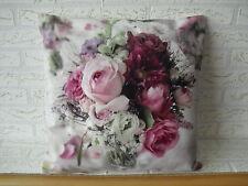 Kissenhülle, Kissenbezug, Dekokissen, Fotodruck Rosen Rosenstrauß 40x40 cm
