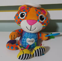 LAMAZE PLUSH TOY TIGER PURRS  BABY TOY! TOMY 22CM! KIDS TOY IMAGINATIVE PLAY!