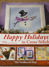 CROSS STITCH: Happy Holidays in Cross Stitch - reg. 23.95