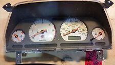 MG ZR ROVER 25 DIESEL SPEEDO CLOCK INSTRUMENT CLUSTER DIALS YAC004900XXX (3408)