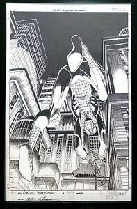 Amazing Spider-Man #505 John Romita Jr 11x17 FRAMED Original Art Poster Marvel C