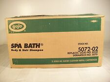 GOJO 5072 - SPA BATH - BODY AND HAIR SHAMPOO - 5000 ML REFILL - 2 PER CASE