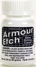 "Armour Etch Glass Etching Cream ~ 2.8 oz jar ""SHIPS TODAY"""