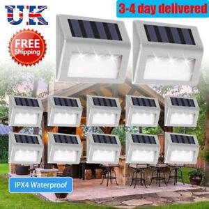 Super Bright Solar Powered LED Door Fence Wall Lights Outdoor Garden Lighting