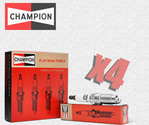 Champion (3340) RC7PYCB4 Platinum Power Spark Plug - Set of 4