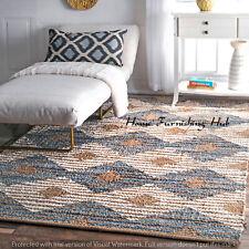 Braided Floor Reversible Handmade Indian Cotton Decorative Carpet 6 x 9 Rag Rugs