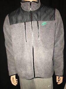 Authentic Nike Polar Tech Full Zip Jacket Size XL Gray BNWT Fleece MSRP$110