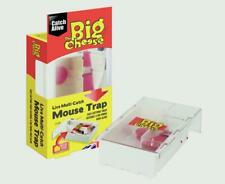 The Big Cheese Live Multi-Catch Mouse Trap STV162 Ready to Use Poison Free