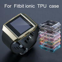 AM_ EG_ Clear TPU Protective Case Cover Protective Shell for Fitbit Ionic Smart