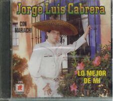 Jorge Luis Cabrera Lo Mejor de mi