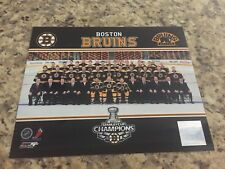 Boston Bruins 2011 Stanley Cup Champions 8x10 Photo NHL