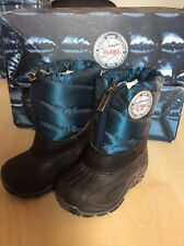 Boys Olang Snow Boots Blue Colour size UK 3-3.5 EU 19/20 BNIB
