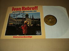 "IVAN REBROFF 33 TOURS LP 12"" GERMANY ***DEDICACE***"