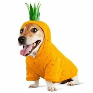 Bootique Dog Hoodie SWEATSHIRT Pina Colada Pineapple Costume OUTFIT HALLOWEEN XS