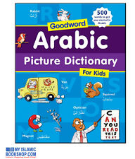 ARABIC PICTURE DICTIONARY FOR KIDS GOODWORD MUSLIM ISLAMIC CHILDREN BOOKS GIFT