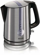 Philips Hd4671/20 Brushed Metal Energy Efficient Kettle 3000w 1.7 Litre