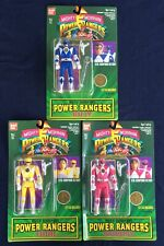 Mighty Morphin Power Rangers Set Of Three Action Figures