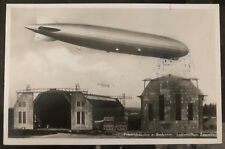 1932 Germany Graf Zeppelin RPPC Postcard Cover LZ 127 To Danzig Flight