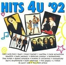 """HITS 4U '92"" RARE AUSSIE VARIOUS ARTISTS CD-Baby Animals/MARTIKA/BAD/Tina"