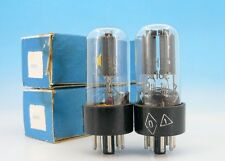 6N8S Double Triode TUBE Vintage Soviet 80's MATCHED PAIR 6SN7 6SN7GT