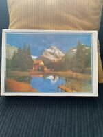 Austrian Switzerland Mountain Scene Puzzle Jigsaw 1000 Pieces