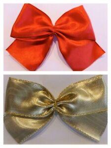 Schleifen, Fertigschleifen, Geschenkschleifen, rot und gold! Top Qualität !