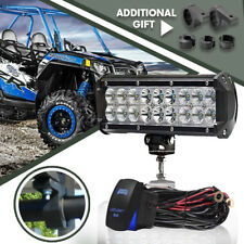 "9"" 54w Spot&Flood DRIVING LIGHTS LED BAR Light OFF ROAD for ATV FORD"