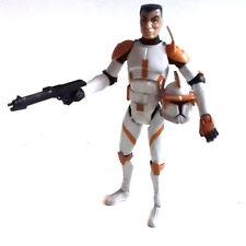 """STAR WARS Clone Wars COMMANDER CODY 3.75"""" figure & helmet  NICE!"""