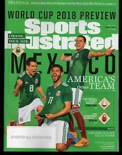 2018 Sports Illustrated WORLD CUP Preview MEXICO Subscription Issue Nr/Mint