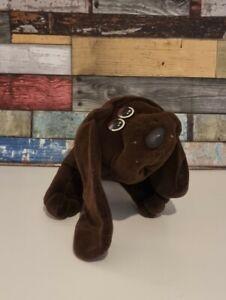 "Pound Puppies Puppy Retro Toy Large Brown Hasbro 16"""