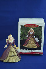 Hallmark Keepsake Ornament Holiday Barbie Doll 1996 Collector's Series box