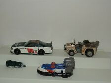 Transformers Vehicles Lot of 3 Racecar Jeep Water Boat