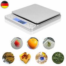 3kg/0,1g Digital LCD Küchenwaage Feinwage Präzision Briefwaage & Münzwaage BS