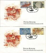 Chile 1995 FDC Pintura Rupestre Cave painting