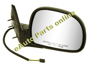 SIDE VIEW MIRROR 94-97 S10 BLAZER JIMMY BRAVADA HOMBRE POWR RH GM #15150851