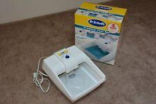 Dr Scholls Premium Foot Spa Massage Heated Whirlpool Soak Machine W/ Box Minty!