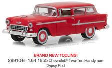 Greenlight Chevrolet Two-Ten Handyman 1955 Gypsy Red 29910 B 1/64