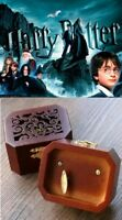WOODEN OCTAGON CARVING PATTERN MUSIC BOX ♫ Harry Potter Hedwigs Theme ♫