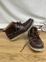 Sperry Top-Sider Gold Cup Leather Chukka Boots Men's Size 10.5 - Vibram Soles