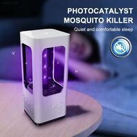 5V USB Mosquito Killer Lamp Insect Fly Bug Zapper Trap Pest LED Control UV Light