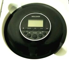 Portable CD Player, Soulcker Personal Compact Disc CD Player with Headphones