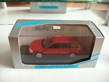 Minichamps Audi A4 Avant in Red on 1:43 in Box