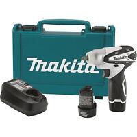 "Makita WT01W 12V Max Lithium-Ion Battery Anvil Cordless 3/8"" Impact Wrench Kit"