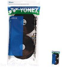 Yonex Super Grap 30-Pack Racket Grips, Black