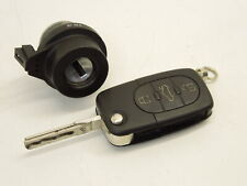 Audi A4 B6 Ignition Barell Lock And Remote Flip Key