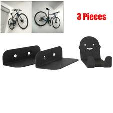 Bike Rack Hanger Wall Mount Cycle Pedal Hook Wheel Holder Shed Garage Bracket TT